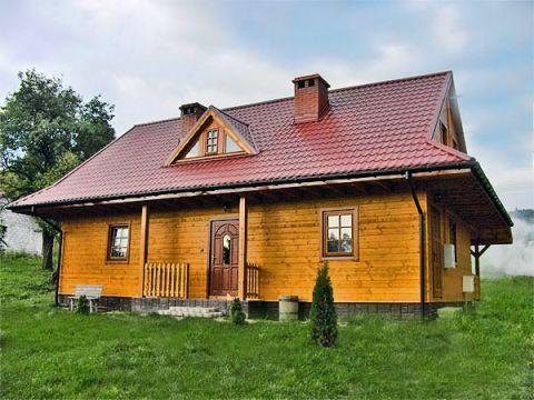 Domy mieszkalne Bieszczady 108m2